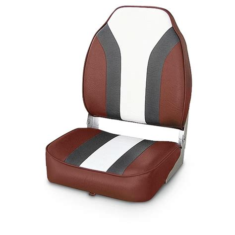 red fishing boat seats wise 174 economy fishing boat seat 140397 fold down seats