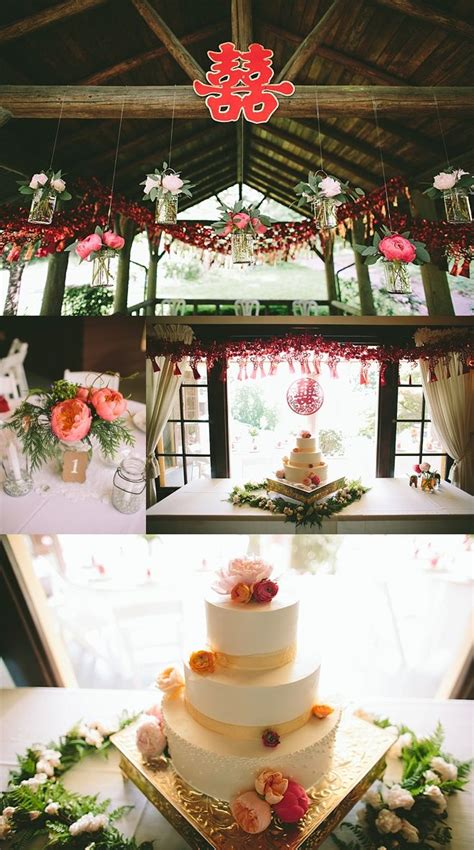 oregon tea ceremony wedding pink decor weddings