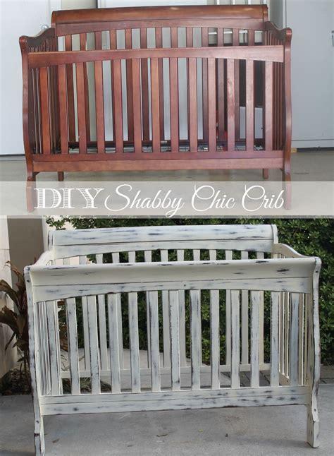 diy shabby chic crib restoration baby products
