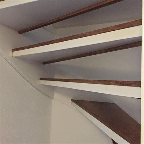 open trap bekleden met hout traprenovatie voor open trappen woning pinterest