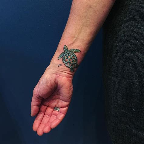 turtle tattoos on wrist 41 sea turtle tattoos designs with meanings