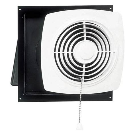 bathroom exhaust fan with pull chain broan nutone through wall pull chain utility ventilator