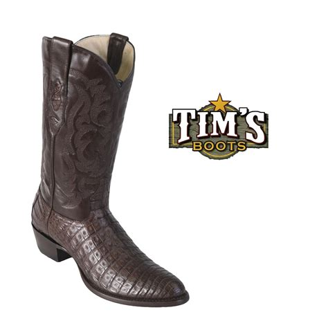 round los altos los altos caiman belly round toe cowboy boots