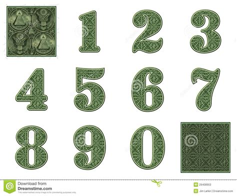 money numbers stock photos image 29408953