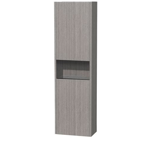 diana grey oak wall cabinet zbathroomgallery