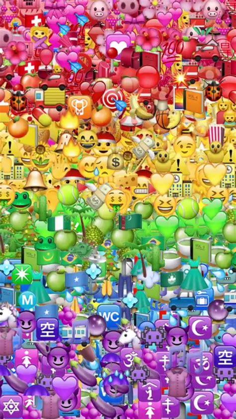 Emoji Wallpaper Rainbow | plus de 1000 id 233 es 224 propos de smileys sur pinterest