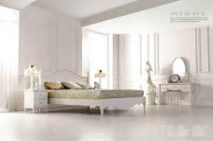 Bedroom Furniture Set White 9043 Modern White Bedroom Furniture Set China Mainland