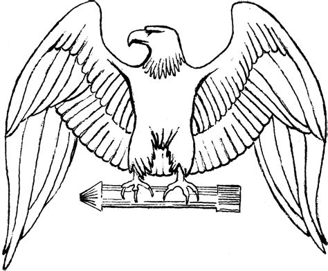 Eagle Coloring Page Free | free printable eagle coloring pages for kids