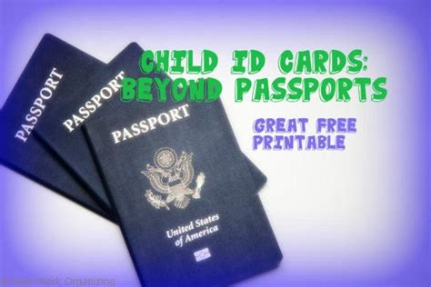 how to make an id card at home child id cards great free printable heartwork