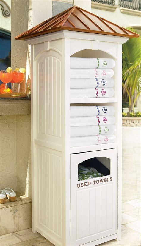 outdoor pool towel storage commercial quality towel valet pool houses custom