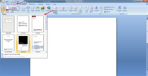 cara membuat cover makalah di ms word 2007 cara membuat cover makalah yang benar panduan microsoft