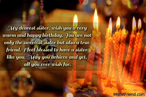 dearest sister    birthday   sister