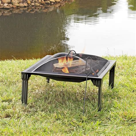 Portable Patio Pit Grab N Go Square Portable Pit 657954 Pits
