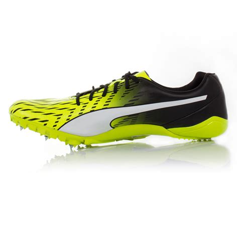 track shoes evospeed electric 5 mens yellow running track field