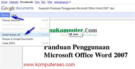 cara membuat watermark di ms word 2003 tutorial word 2007 buku word 2007 makalah ebook dan