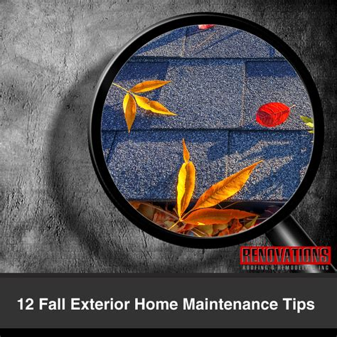 12 fall maintenance tips for your home abbate insurance 12 fall exterior home maintenance tips renovations roofing