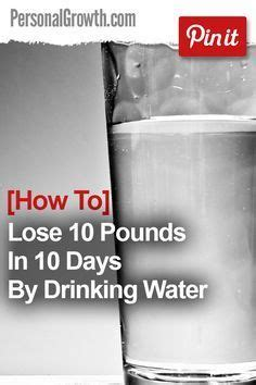 Best Detox To Lose Weight In A Week by 25 Best Ideas About Losing 10 Pounds On 10
