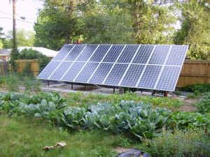 backyard solar power limits to growth a vegetarian issue compassionate spirit