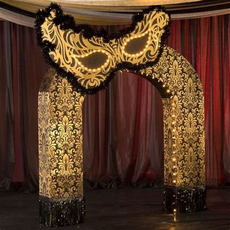 ft   midnight masquerade arch masquerade theme