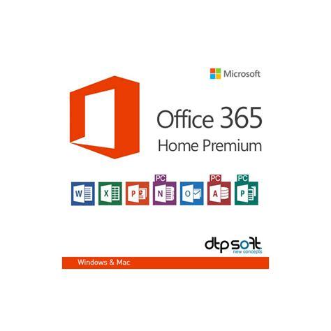 microsoft office 365 home premium 32 64 bit 5pcs macs