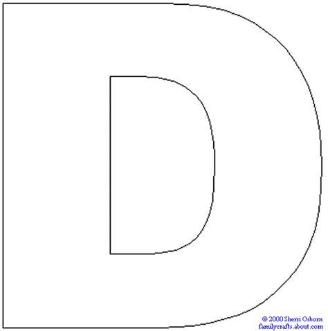 Letter D Coloring Pages - GetColoringPages.com D