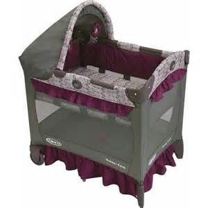 graco travel lite portable crib with stages nyssa