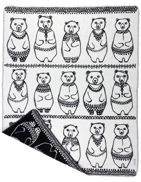 greenland gang blanket black organic cotton fabulous