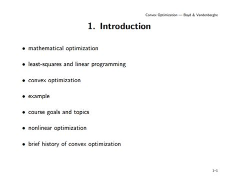 What Beamer Theme Is Used In Boyd S Convex Optimization Tex Presentation Template
