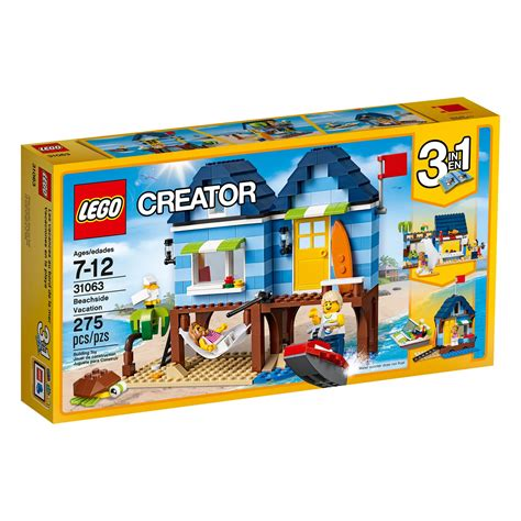 amazon lego amazon com lego creator beachside vacation 31063 children