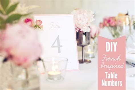 Diy Table Numbers by Free Table Number Template Inspired Pink And Grey