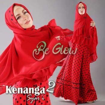 Aruni Syar I By Be Glow kenanga 2 baju muslim gamis modern