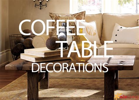 How To Decorate A Coffee Table With Pottery Barns 171 Ezeliving How To Decorate Living Room Table