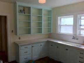 Kitchen Cabinet Painting Color Ideas Aqua Painted Kitchen Cabinets Quicua
