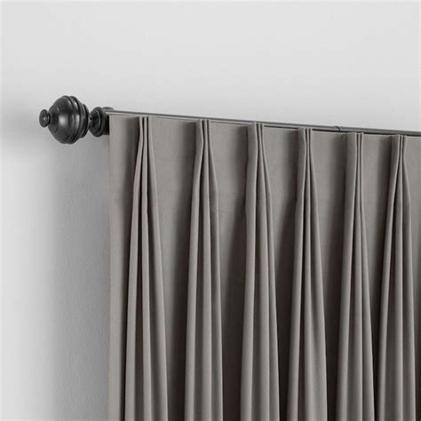 inverted pleat curtains bali custom inverted pleat draperies traditional