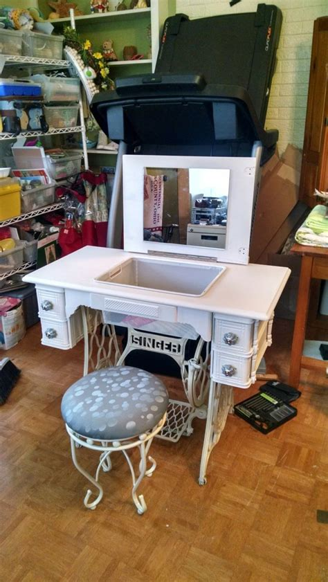 sewing machine table ideas 23 decorating like your sewing machine find a reuse