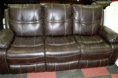 chocolate brown leather reclining sofa new chocolate brown leather reclining sofa and kastner