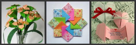 origami mothers day origami craft project library