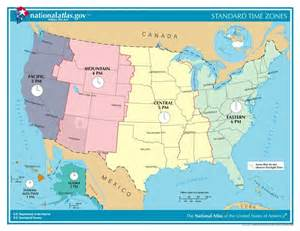 time zones in the united states usa time genie s
