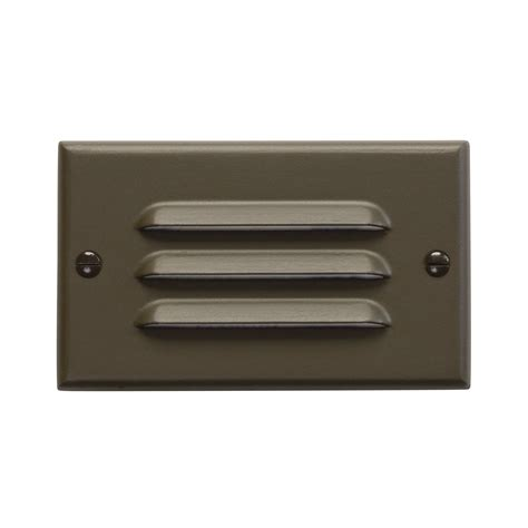 Kichler Step Lights Kichler Lighting 126 Horizontal Louver Design Pro Interior