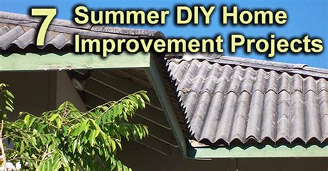 home improvements summer diy