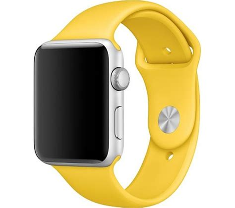 Apple Sport Band Only Yellow 42 Mm apple 42 mm yellow sport band deals pc world