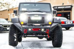 Jeep Wrangler Jk Bumpers Jeep Jk Stealth Fighter Front Bumper Add Offroad
