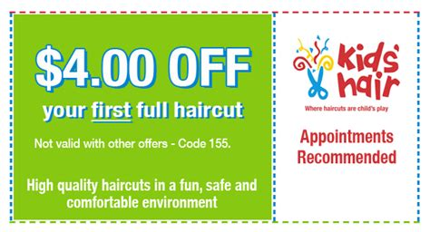 kids haircut coupon discounts for kids haircuts kids