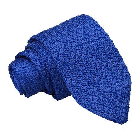 knitted silk ties uk ja grenadine knitted silk royal blue slim tie