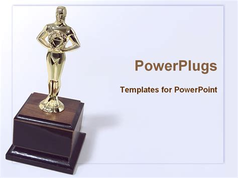 awards presentation template image of award trophy powerpoint template background of