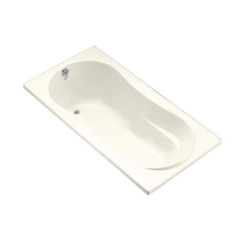 bathtub flange kohler windward 6 ft right hand drain with tile flange