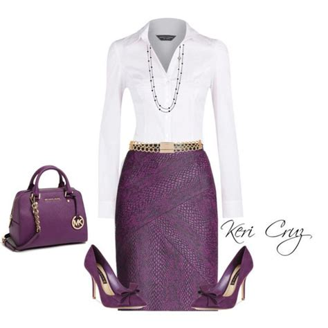 pattern heels polyvore cute work outfits work outfits and purple on pinterest