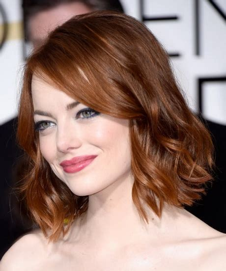 hollywood actresses medium lenght hairstyles medium length haircuts 2015