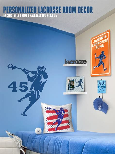 Lacrosse Decorations by This Personalized Lacrosse Room Decor Is Amazing Guys