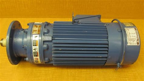 1 hp 3 phase induction motor new sm cyclo 3 phase induction motor tc fx fb 2b 1 1 2 hp cnvm1h 6100yb b 17 ebay